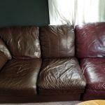 Mahogany Vinyl & Leather Finish photo review