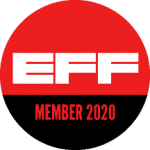 EFF Member badge