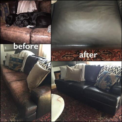 Black dye review aniline couch