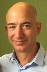 Picture of Amazon CEO Jeff Bezos from Wikimedia Commons