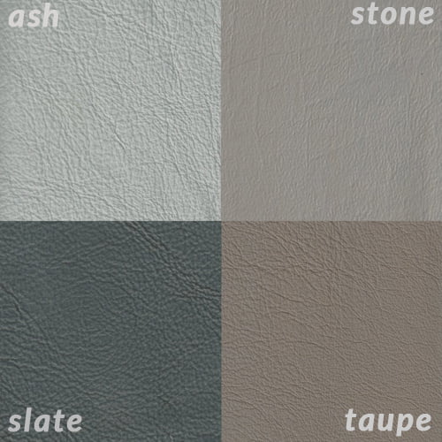 Infographic comparing Slate to Taupe and lighter greys