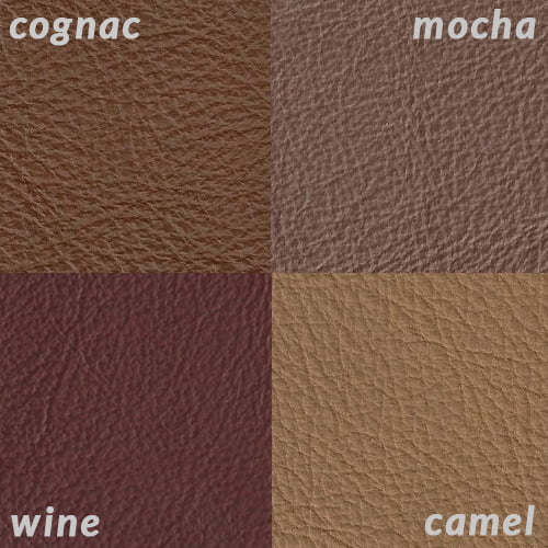 Infographic of Cognac compared to lighter tans and browns