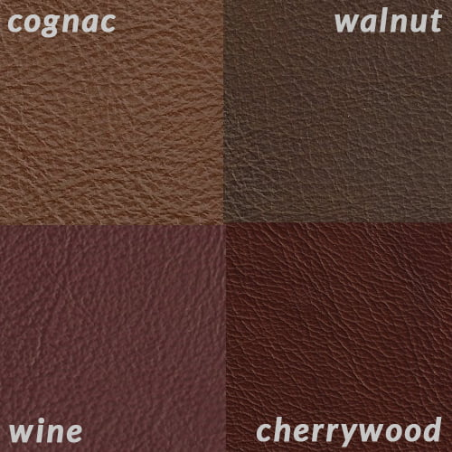 Infographic of Cognac compared to burgundies and walnut brown