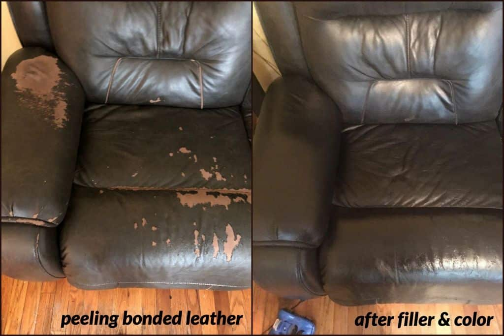 How To Repair Peeling Leather Faux Leather Amp Bonded